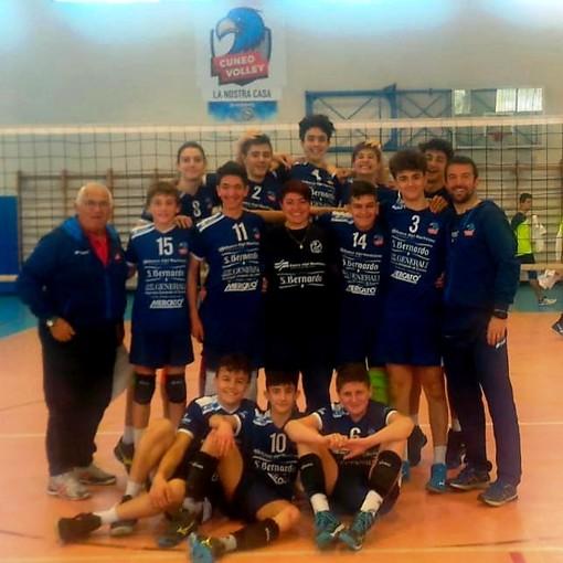Volley maschile: vola in Semifinale Regionale l'U14 Bam Mercatò Cuneo Rossa