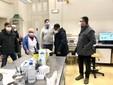 Saluzzo, l'apertura del centro vaccinale anti-Covid 19