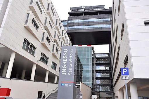 """L'ingresso """"Santa Vittoria"""" del nuovo ospedale di Verduno"""