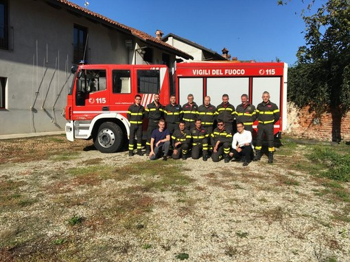 5x1000 per sostenere l'operato del distaccamento dei Vigili del Fuoco di Sommariva del Bosco