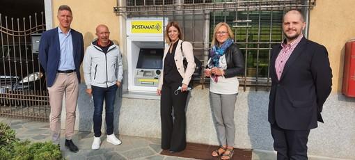 Il nuovo Postamat installato a Venasca