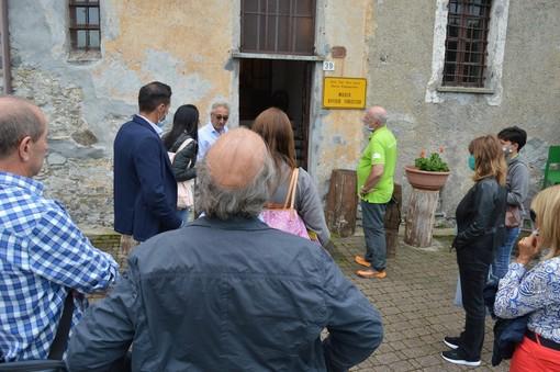 L'ATL del Cuneese in visita alla Stagionatura di Beppino Occelli in Valcasotto