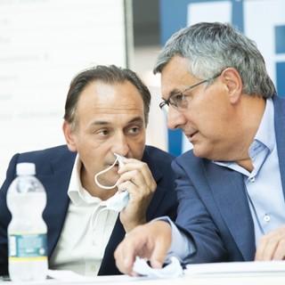 Luigi Genesio Icardi con Alberto Cirio