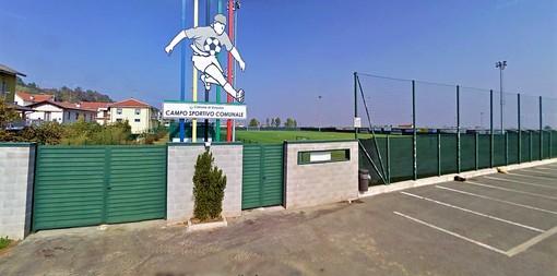 Il campo sportivo di Verzuolo