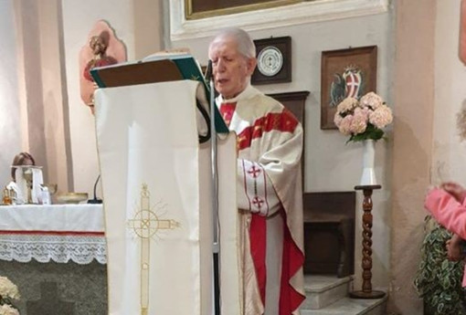 Vicoforte: 50 anni nella parrocchia di Moline per monsignor Dall'Orso
