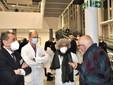 Da destra Bruno Ceretto, la direttrice di presidio dell'ospedale Ferrero Maria Cristina Frigeri, il responsabile del Dea Enzo Aluffi e il direttore sanitario dell'Asl Mario Traina