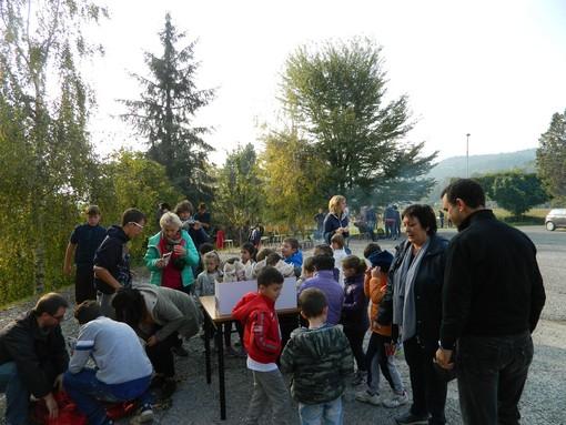 Verzuolo: caldarroste per tutti alla Scuola Agraria
