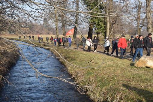 """A Vignolo la """"protesta dei pesci di fiume"""": """"Basta incentivi all'idroelettrico nei corsi d'acqua naturali!"""""""