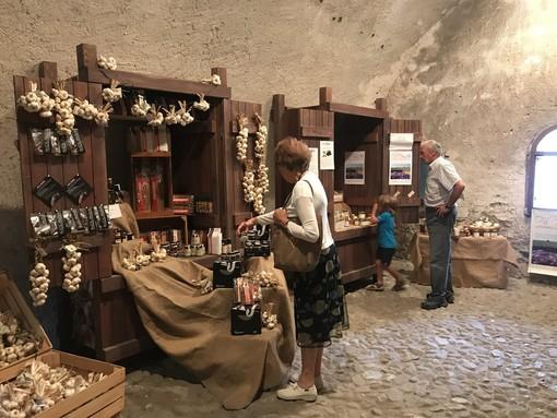 """""""Temporary Shop"""" con prodotti tipici e creazioni artigianali al Forte di Vinadio"""