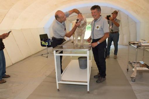 I veterinari volontari della Protezione Civile di Cuneo attivi per le emergenze degli amici a quattro zampe (VIDEO)