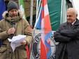 Da sinistra, l'ingegner Marinucci ed il sindaco Panero