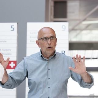 Il direttore dell'Asl Cn Massimo Veglio (foto di Barbara Guazzone)