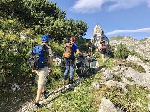 La via del Duca per attraversare il Marguareis a piedi o sulle due ruote