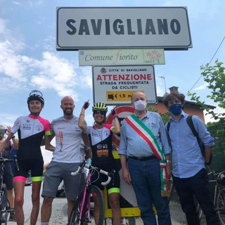 """Savigliano sempre più """"bike-friendly"""" con l'arrivo di Paola Gianotti e il suo Giro del Piemonte (FOTO)"""