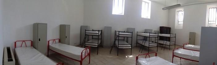 Saluzzo, un dormitorio della nuova Casa Madre Teresa di Calcutta- foto tratta dal sito Saluzzo Migrante
