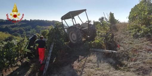 E' Giovanni Ferrero la vittima dell'incidente nella vigna di borgata Possa a Clavesana