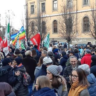 La manifestazione albese del 22 dicembre 2018