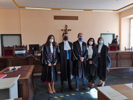 In tribunale a Cuneo cinque nuovi magistrati: hanno giurato tre pubblici ministeri e due giudici