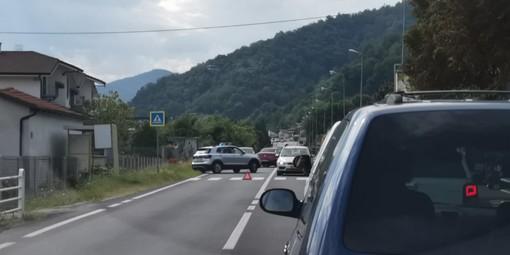 Incidente con quattro mezzi coinvolti a Venasca