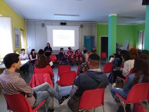 In foto l'incontro organizzato sul Servizio Civile