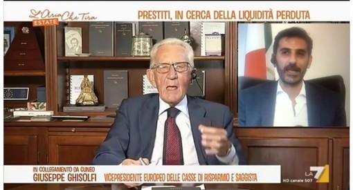 Su La7 e su Facebook Ghisolfi e Villarosa si confermano reciproca stima