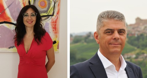 Francesca Zoccola e Roberto Davico
