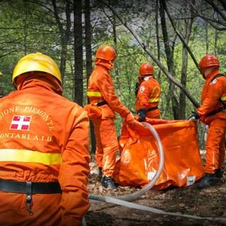 A Limone Piemonte oltre 200 volontari dell'Antincendi boschivi: due giorni di esercitazione provinciale