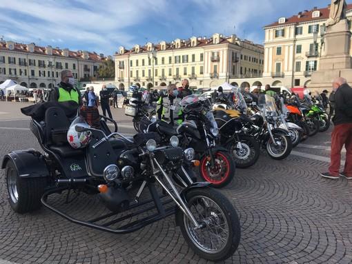 Tappa a Cuneo per gli angeli in moto: una staffetta di stelle per ricordare le vittime della strada