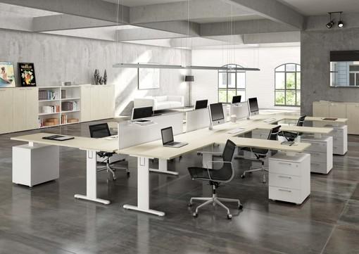 L'arredamento per ufficio di Castellani Shop, un ambiente di lavoro confortevole e funzionale