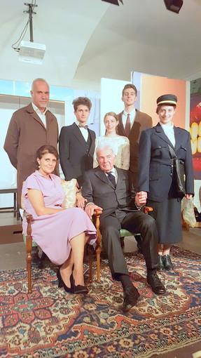 """Saluzzo, il cast dello spettacolo """"Quelle anime fragili"""""""