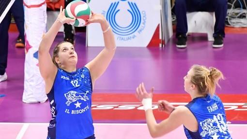 Volley femminile A1: Alice Turco completa la cabina di regia della Bosca S.Bernardo Cuneo
