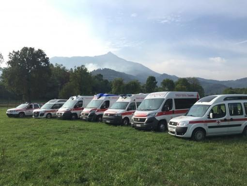 I numeri della Croce Rossa di Peveragno: quasi 25mila ore di volontariato e più di 155mila chilometri percorsi