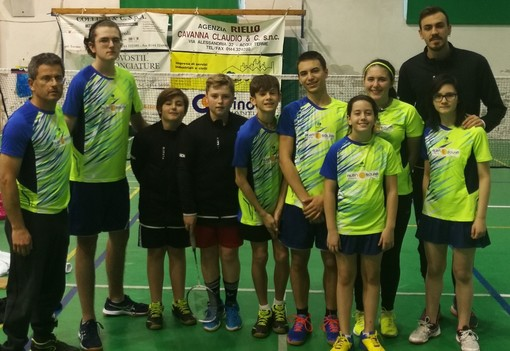 Badminton: due ori al Challenge di Acqui per Alba Shuttle
