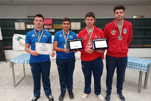 Bocce, petanque: Auxilium Saluzzo protagonista ai campionati italiani U18 a coppie