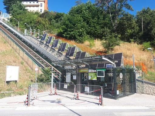 Cuneo, manutenzione ordinaria all'ascensore inclinato: chiuso domani e mercoledì