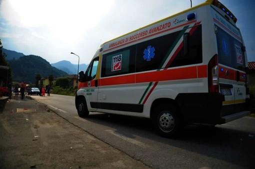 Cade sulla pista di down hill a Roburent, 38enne trasportato all'ospedale con diversi traumi