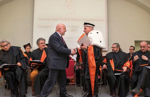 Grande inaugurazione per il nuovo anno accademico all'Università di Scienze Gastronomiche di Pollenzo