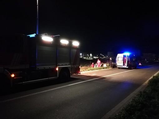 Incidente questa mattina sulla strada Busca - Costigliole Saluzzo