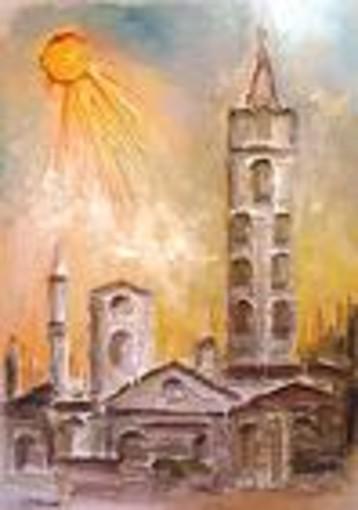 I fiori dell'anima, personale dell'artista Maurizio Rinaudo  in memoria del figlio Gualtiero ad Alba