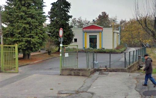 La sede dell'asilo nido comunale di via Ortigara, attualmente non fruibile