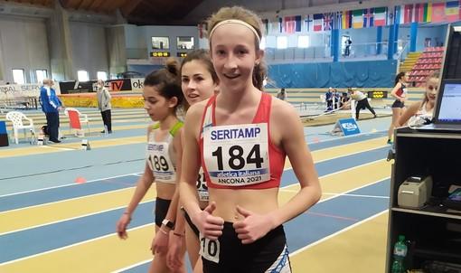 Atletica: Adele Roatta ai piedi del podio nei Campionati Italiani Indoor Allievi