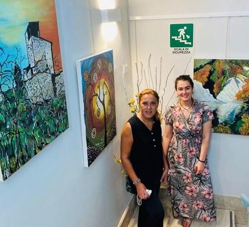 Alex Botto con Chiara Bertola