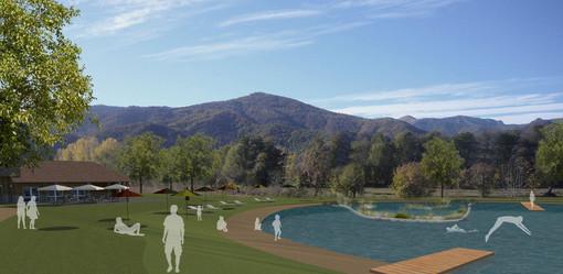 """Un sentiero naturale dal """"bio-lago"""" nell'ex polveriera di Caraglio al Filatoio. Il comune presenta il progetto al G.A.L."""