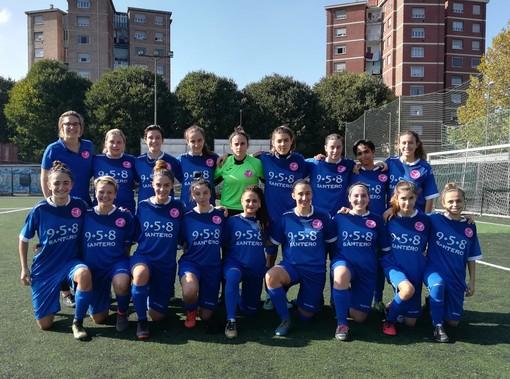 Calcio femminile, Juniores - Tris dell' Area Calcio alla Novese