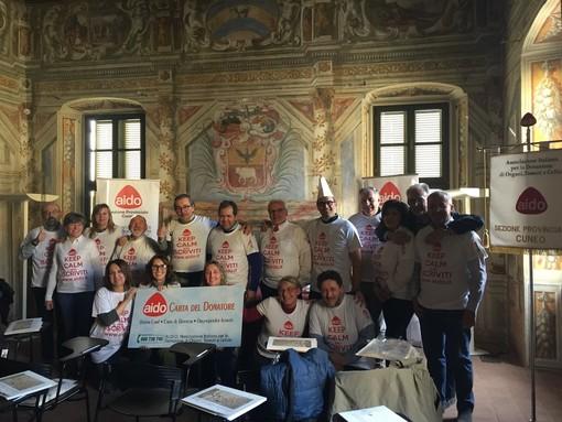 Uno dei tanti momenti associativi di aggiornamento promossi da AIDO Piemonte con la nutrita partecipazione dei Gruppi Comunali legati alla Sezione Provinciale AIDO di Cuneo