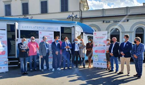Quasi 200 vaccinati a Cheese nell'unità mobile dedicata ai grandi eventi del Piemonte
