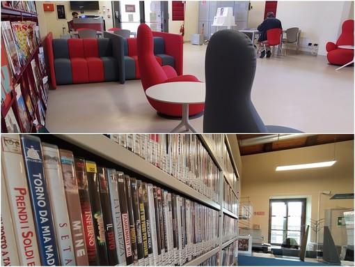 La nuova biblioteca Lidia Rolfi, ambienti interni