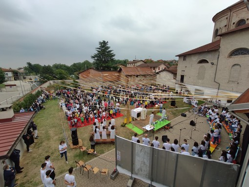 Inaugurato a Beinette l'anno catechistico e oratoriale con la Messa Animata