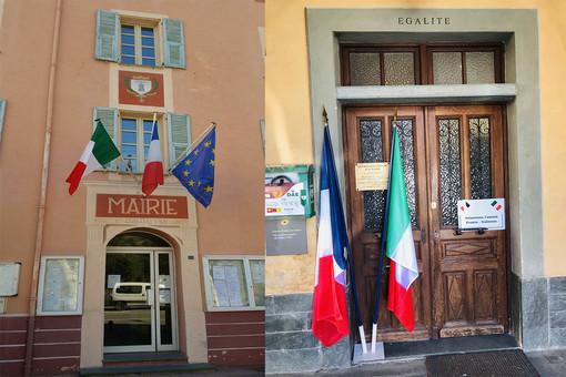 Anche sui comuni di La Brigue, Saorge e Breil Sur Roya sventola la bandiera italiana
