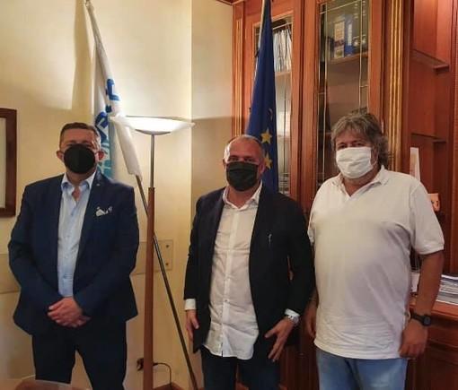 Giancarlo Boselli con Luca Chiapella e Giorgio Chiesa